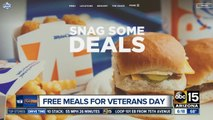 ROUNDUP: Free activities, food and more for Veterans Day
