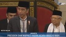 Jokowi-Ma'ruf Peringati Maulid Nabi di Istana Negara