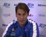 """ATP Finals - Nadal: """"Je dois voir au jour le jour"""""""