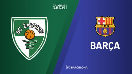 EuroLeague 2019-20 Highlights Regular Season Round 7 video: Zalgiris 86-93 Barcelona