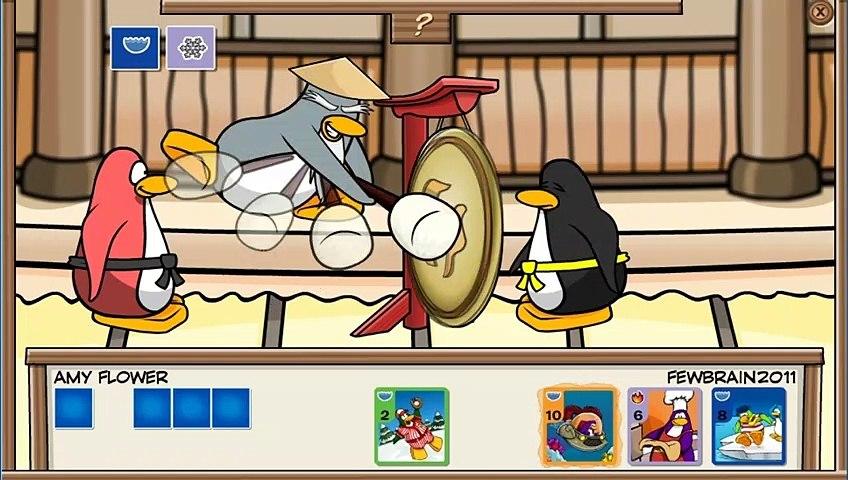 livro de selo #5 - veja a carta poderosa do sensei -  club penguin