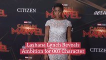 """Lashana Lynch Reveals Ambition for """"007"""" Character"""