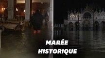 Les images de la marée historique qui a submergé Venise