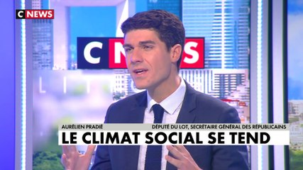 Aurélien Pradié - CNews mercredi 13 novembre 2019