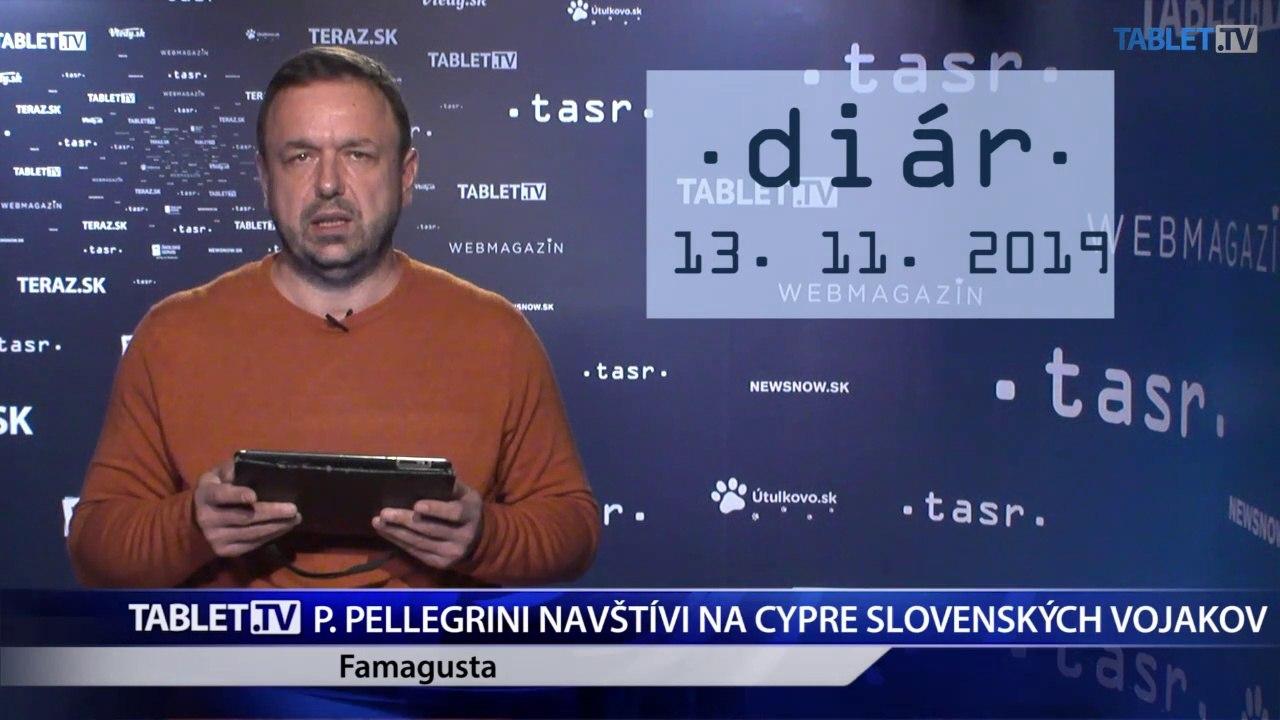 DIÁR: P. Pellegrini navštívi na Cypre slovenských vojakov