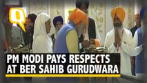 PM Pays Respects at Ber Sahib, Kartarpur Corridor to Open Soon