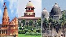Ayodhya verdict : కొద్దిసేపట్లో అయోధ్య భూవివాదంపై సుప్రీం తీర్పు || Oneindia Telugu