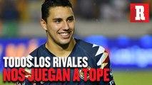 Jorge Sánchez: 'Todos los rivales nos juegan a tope'
