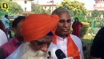 Ayodhya Verdict: Petitioner Sardar Ravi Ranjan Singh Speaks To Media