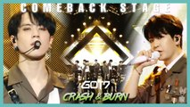 [Comeback Stage] GOT7 - Crash & Burn , 갓세븐 - Crash & Burn Show Music core 20191109