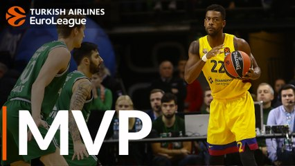 Round 7 MVP: Cory Higgins, FC Barcelona