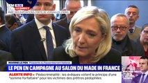 """Marche contre l'islamophobie: Marine Le Pen fustige le soutien et """"la trahison"""" de Jean-Luc Mélenchon"""