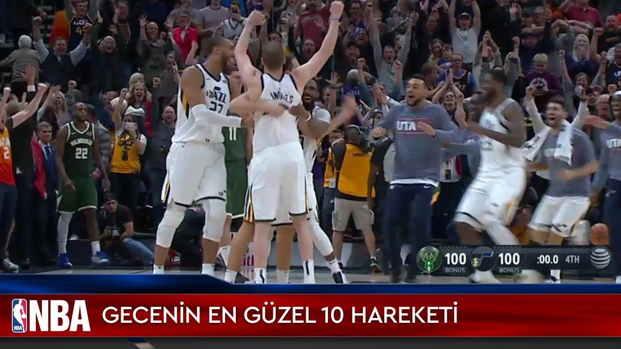 NBA'de Gecenin En Güzel 10 Hareketi | 9.11.2019