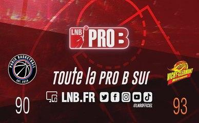 PRO B : Paris vs Vichy-Clermont (J5)
