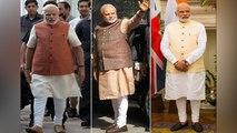 PM Modi's fashionable headgear | PM Modi's Stylish attire | पीएम मोदी का स्टाइलिश लुक | Boldsky
