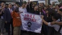 Brasile, ex presidente Lula esce da carcere acclamato dalla folla