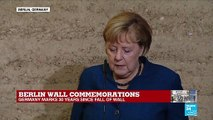 "Merkel: ""The 9th of November is a key date for German history"""