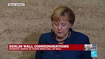"Merkel: ""No wall can be indestructible"""