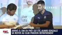 """OM : """"Je serai donc à Marseille pour trois ans de plus"""" révèle Gonzalez"""