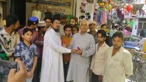 Ayodhya Verdict: हिंदू-मुस्लिम ने एक-दूसरे को भेंट किया गुलाब का फूल, अयोध्या फैसले का किया स्वागत