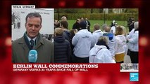 """Berlin Wall commemorations: """"It's a day for imagining what kind of future Germans want"""""""