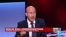 """Berlin Wall commemorations: """"Today's walls are to prevent people from getting in"""""""