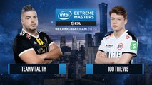 CSGO - 100 Thieves vs. Team Vitality [Inferno] Map 3 - Semifinals - IEM Beijing-Haidian 2019