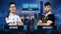 CSGO - 100 Thieves vs. Team Vitality [Nuke] Map 2 - Semifinals - IEM Beijing-Haidian 2019