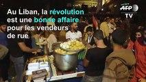 Liban: pour les vendeurs ambulants, la contestation est une aubaine