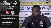 Conférence de presse d'avant Match Stade Rennais FC - Amiens SC, Chadrac Akolo