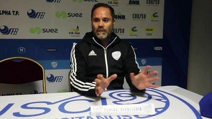 J13 USCL 2-2 FCVB : la conférence de presse de Carlos Secretário