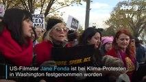 Janes Fonda bei Klima-Protesten festgenommen