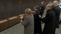 Merkel marks anniversary of Berlin Wall