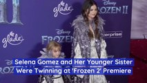 Selena Gomez Takes Little Sister To 'Frozen 2' Premiere