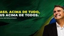 """Bolsonaro pede que não deem """"munição ao canalha"""" do Lula"""
