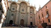 Moreno asiste a la beatificación de María Emilia Riquelme en Granada
