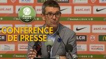 Conférence de presse AS Nancy Lorraine - ESTAC Troyes (0-0) : Jean-Louis GARCIA (ASNL) - Laurent BATLLES (ESTAC) - 2019/2020