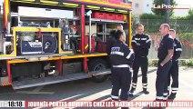 Journée portes ouvertes chez les marins-pompiers de Marseille