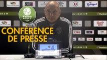 Conférence de presse EA Guingamp - AC Ajaccio (1-1) :  (EAG) - Olivier PANTALONI (ACA) - 2019/2020