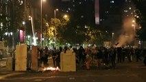 Brandstiftung bei anhaltenden Massenprotesten in Chile