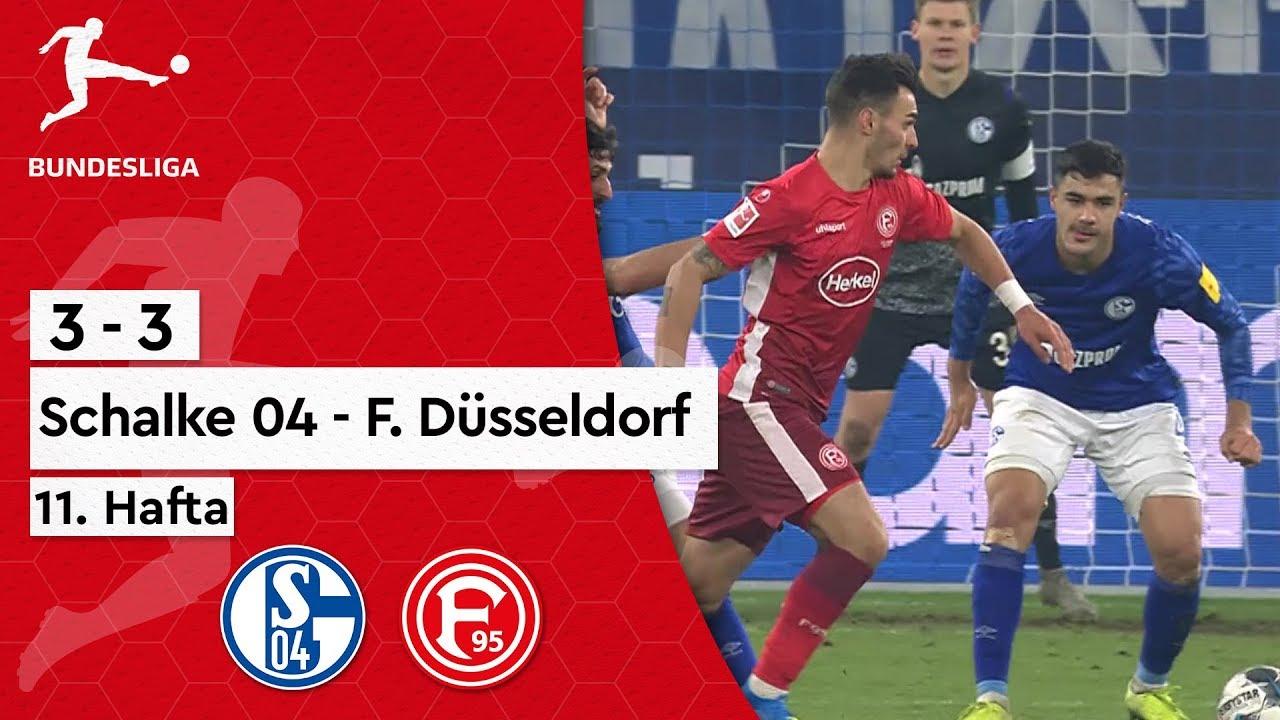 12. Hafta / Schalke 04 - Fortuna Düsseldorf (3-3) - Maç Özeti - Bundesliga 2019/20