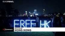 Vigil in Hong Kong after death of student protester