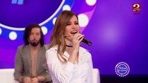 """النجمة الجزائرية كنزة مرسلي تغني """"لاكازا دو لامور"""" على مسرح #ساعة_سعيدة"""