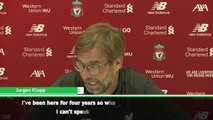 Thank God there's a rivalry between Manchester City - Klopp