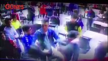 Uzman çavuş, restorandaki kavgayı havaya ateş açarak sonlandırdı