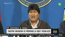 Evo Morales convoca a diálogo a partidos de Bolivia en medio de protestas y motines