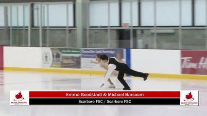 2020 Skate Ontario Sectionals - Novice Pattern Dance