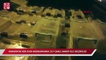 Mardin'de 217 canlı akrep ele geçirildi