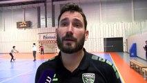Cedric Paty coach d'Annecy le Vieux après le match nul à Martigues