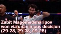 UFC Moscow Results: Calvin Kattar Drops Decision To Zabit Magomedsharipov